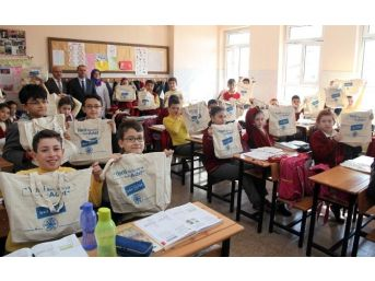 Selçuklu Belediye'sinden Okullara Geri Dönüşüm Eğitimi