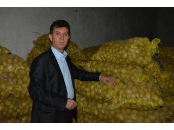Tüccarlar Patatesi Stokladı, Kilosu 5 Tl'ye Yükseldi