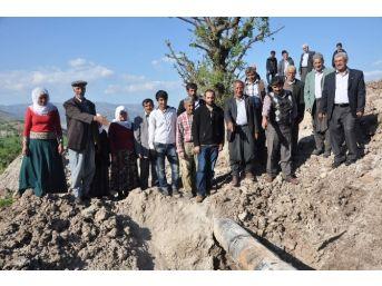 Hasar Gören Borular Nedeniyle 84 Köy Susuz Kaldı