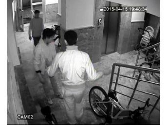 Bisiklet Hırsızlığı Şüphelilerini Güvenlik Kamerası Yakalattı