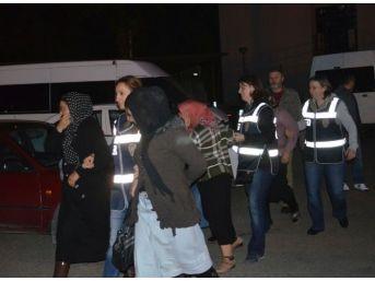 Giresun'da Fuhuş Operasyonu: 9 Gözaltı