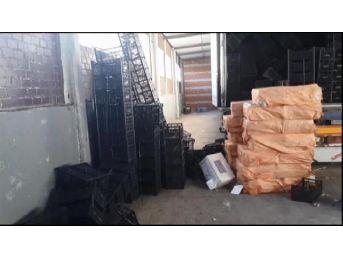 İstanbul'da 152 Bin 500 Paket Kaçak Sigara Ele Geçirildi