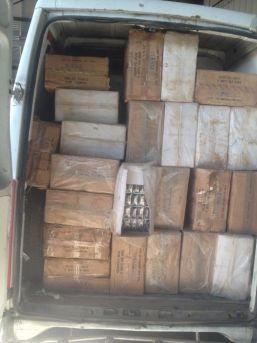 Saman Çuvalına Gizlenmiş 62 Bin Paket Kaçak Sigara Ele Geçirildi