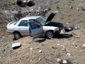 Tomarza'da Kaza: 1 Ölü, 1 Yaralı