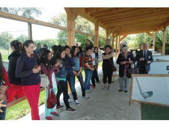 Bodrum'da Öğrencilerin Golf Heyecanı