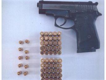 Av Tüfeği Çalan Hırsızlar Yakalandı