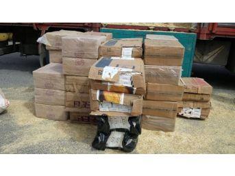 Şanlıurfa'da 25 Bin Paket Kaçak Sigara Ele Geçirildi