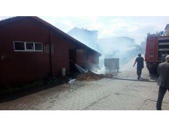 Zonguldak'ta İtfaiye Büyük Bir Tehlikeyi Önledi