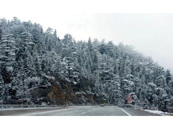 Akseki- Seydişehir Yolu Kar Nedeniyle Kapandı