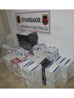 Diyarbakır'da 10 Bin Paket Kaçak Sigara Ele Geçirildi