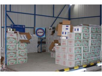 Tır'dan 147 Bin Paket Kaçak Sigara Çıktı