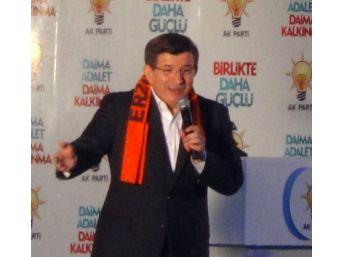 Başbakan Davutoğlu Bir Günde 3 Ayrı Şehirde Miting Yaptı