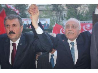 Milli İttifak Liderleri Gaziantep'te