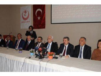 Sp Genel Başkanı Kamalak: Türkiye Ekonomisi Üretmiyor, Tüketiyor