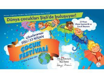 Dünya Çocukları, 23 Nisan'ı Şişli'de Kutlayacak