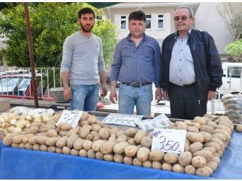Patatesin Fiyatı Üreticiyi Zor Durumda Bıraktı