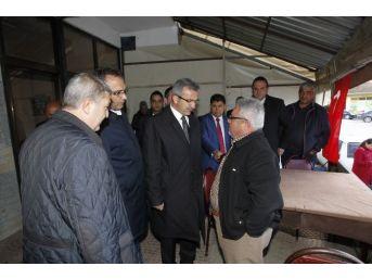 Başkan Köşker Köyleri Ziyaret Etti