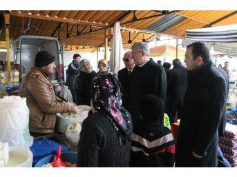Ak Parti Seydişehir'de Seçim Çalışmalarını Sürdürüyor