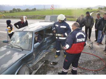 Seydişehir'de Kaza: 3 Yaralı