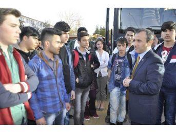 Seydişehirli Öğrenciler Çanakkale'ye Uğurlandı