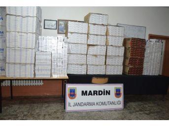 Mardin'de 4 Günde 82 Bin 975 Paket Kaçak Sigara Ele Geçirildi