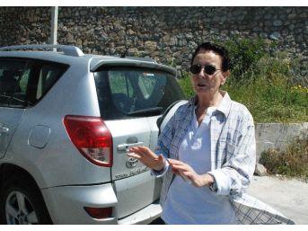 Fatma Girik Bodrum'da Kaza Geçirdi
