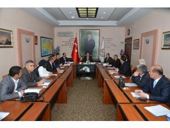İl Başkanları İle Seçim Güvenliği Toplantısı