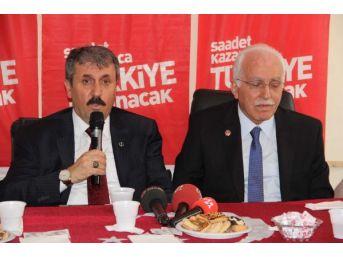 Sp Genel Başkanı Kamalak: Türkiye Ekonomisi Üretmiyor, Tüketiyor (2)