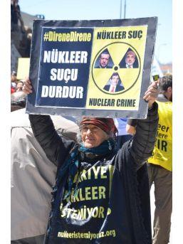 Çevreciler Sinop'tan Haykırdı; 'nükleere Inat Yaşasın Hayat'...