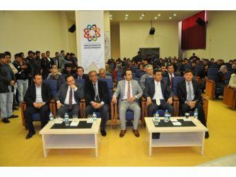 Tunceli Üniversitesi'nde 'hayata Yeniden Bağlanıyorum' Konferansı