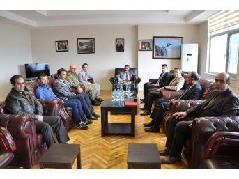 Tunceli Valisi Kaymak'tan Yeni Rektör İpek'e Ziyaret