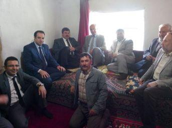 Ak Parti Milletvekili Adayı Özkaya, Sandıklı Ve Dinar Köylerini Ziyaret Etti