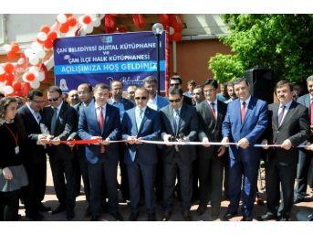 Çan Belediyesi Dijital Kütüphanesi Açıldı