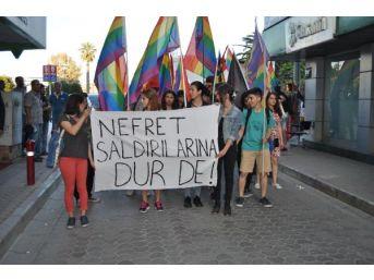 Lgbt'lilerden 'nefret Saldırılarına Dur De' Eylemi