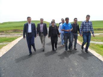 Yapımı Tamamlanan Bahçeli Köy Yolu Hizmete Açıldı