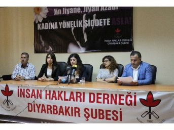 İhd Diyarbakır Şubesi Kadın Hak İhlali Raporunu Açıkladı
