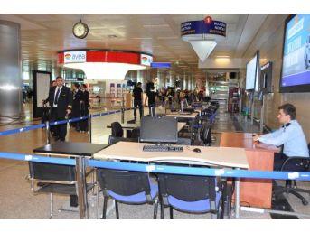 Atatürk Havalimanı'nda Seçim Hazırlıkları Tamamlandı