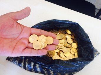 Mersin'de 460 Adet Sahte Altın Ele Geçirildi