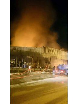 Fiskobirlik Deposundaki Yangın Kundaklama Sonucu Çıkmış
