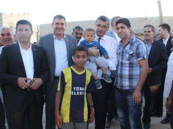 Başkan Güvenç'ten Kırsal Mahallelere Ziyaret