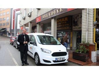 Çaycuma Belediyesi'nin Şirketi Çaybel'den Yeni Araçlar