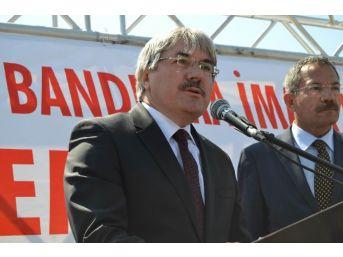 Bandırma'da İmam Hatip Okulunun Temeli Atıldı