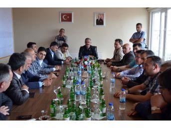 Dernek Ve Federasyon Başkanları Adilcevaz' Gezdi