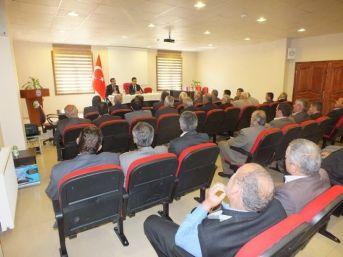 Azdavay'da Köydes Toplantısı Yapıldı