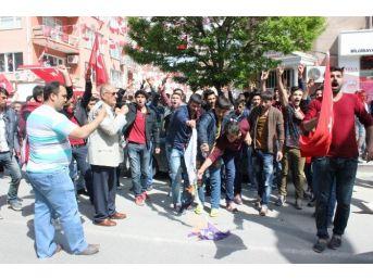 Gerginliğin Ardından Hdp Seçim Büroları Önünde Güvenlik Önlemi