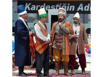 Gümrük Bakanı Canikli, Şed Kuşandı