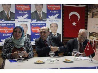 Millet Partisi Genel Başkanı Aykut Edibali: