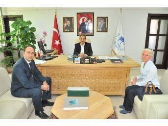 Kop Başkan Vekili Bostancı'dan Başkan Akkaya'ya Ziyaret