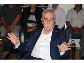 Ak Parti Milletvekili Recai Berber Turgutlu'da Tarımı Konuştu