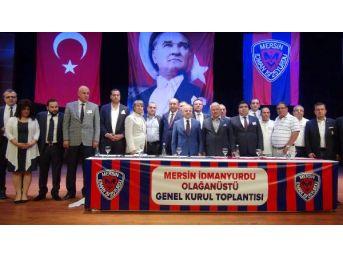 Mersin İdmanyurdu'nda Kahramanlı Yeniden Başkan